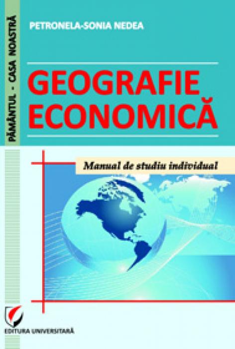 Geografie economică. Manual de studiu individual 0