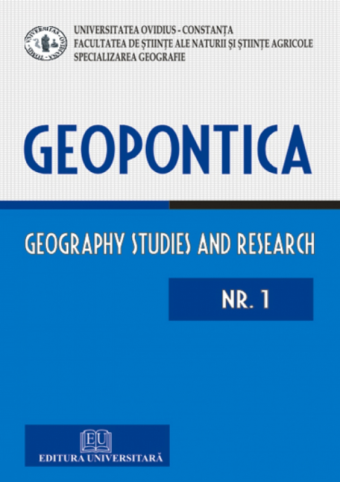 Geopontica - Geography studies and research  - Nr. 1 0