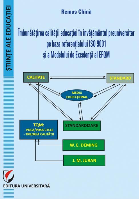 Imbunatatirea calitatii educatiei in invatamantul preuniversitar pe baza referentialului ISO 9001 si a Modelului de Excelenta al EFQM 0