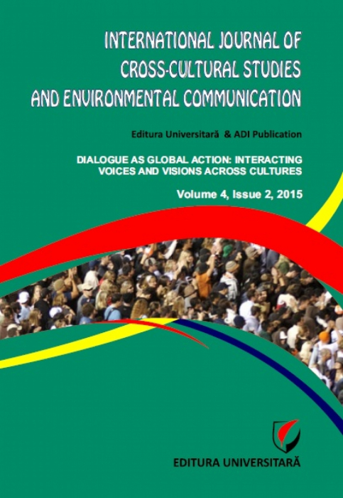 International Journal of Cross-Cultural Studies and Environmental Communication (JCCSEC), Volume 4, Issue 2, 2015 0
