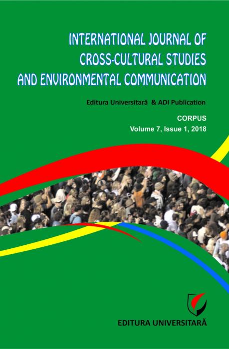 International Journal of Cross-Cultural Studies and Environmental Communication (JCCSEC), Volume 7, Issue 1, 2018 [0]