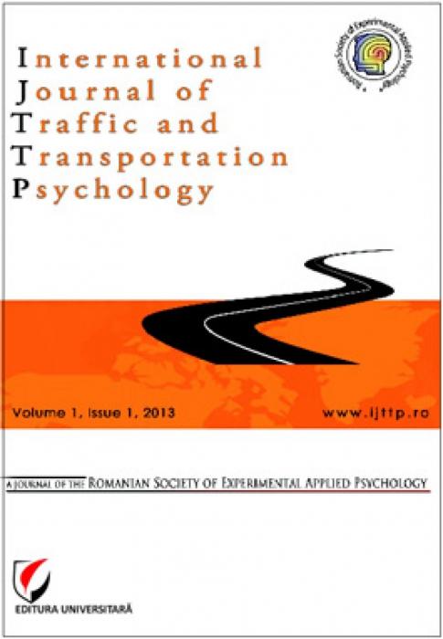 International Journal of Traffic and Transportation Psychology, Volume I, Issue 1, 2013 [0]