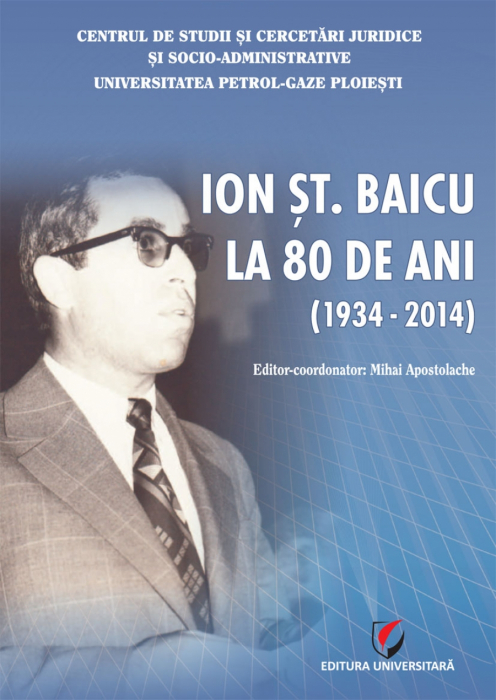 Ion St. Baicu at 80 years old (1934-2014) 0