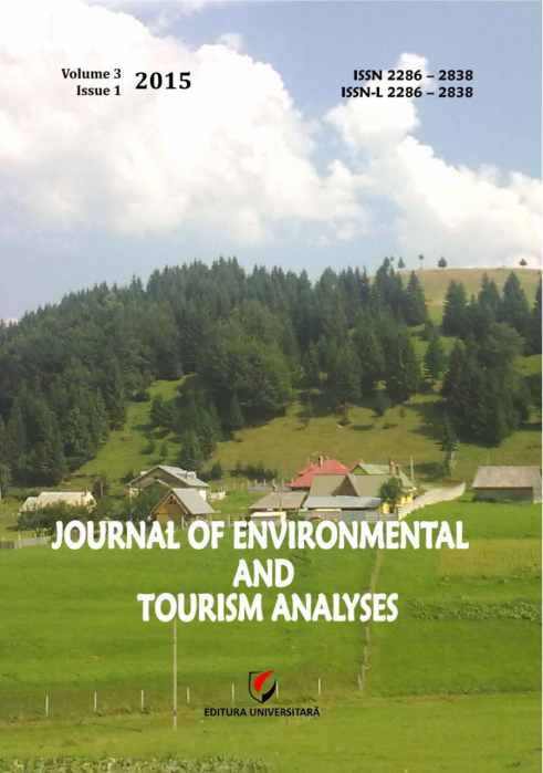 Journal of Environmental and Tourism Analyses, Volume 3, Issue 1, 2015 0