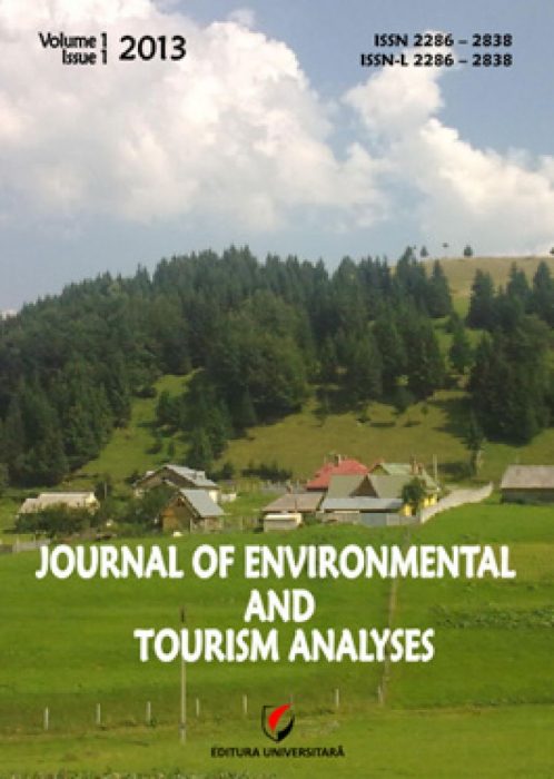 Journal of Environmental and Tourism Analyses, Volume I, Issue 1, 2013 0