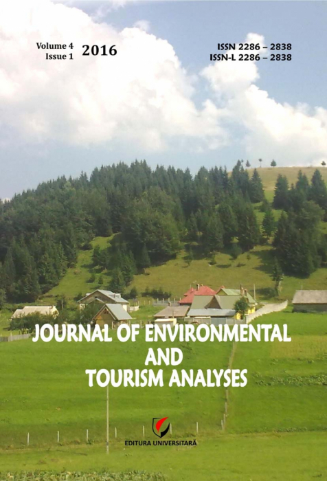 Journal of Environmental and Tourism Analyses, Volume 4, Issue 1, 2016 0