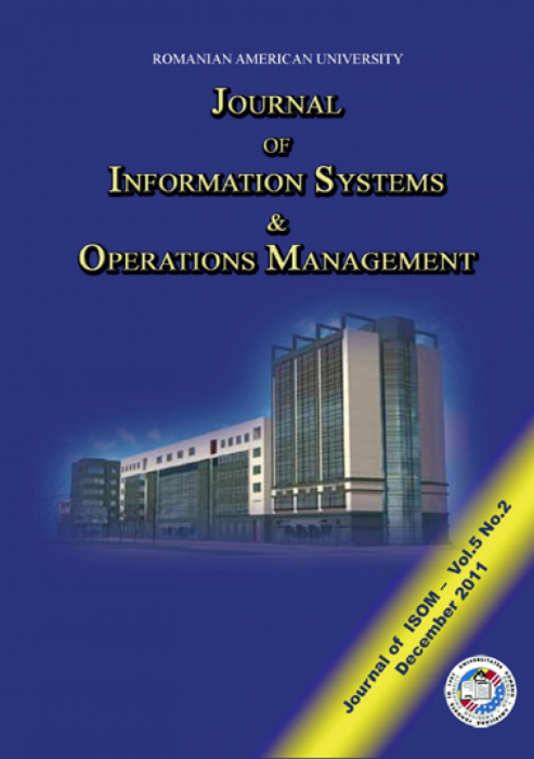 Journal of Information Systems & Operations Management, vol. 5, no. 2 0
