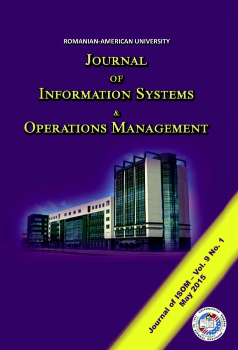 Journal of Information Systems & Operations Management, vol. 9, no. 1/ May 2015 0