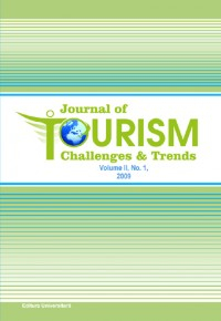 Journal of Tourism Challenges and Trends - Vol. II, No. 1 / 2009 0