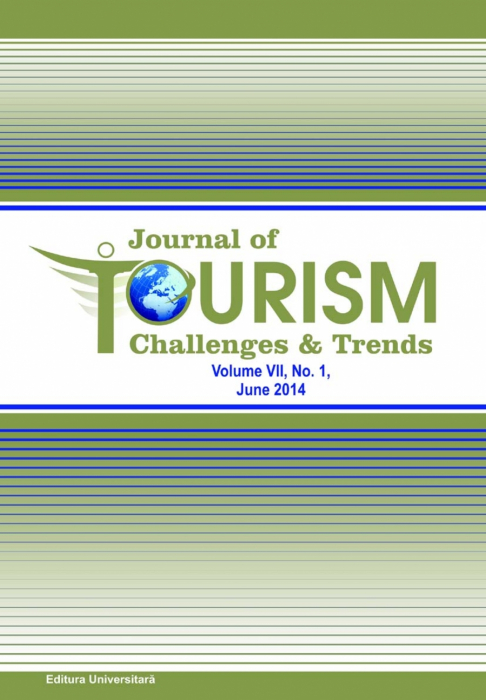 Journal of Tourism Challenges and Trends, vol.VII, Nr. 1, June 2014 0