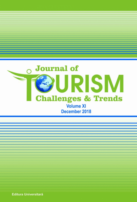 Journal of Tourism Challenges and Trends, vol.XI, Decembrie 2018 0