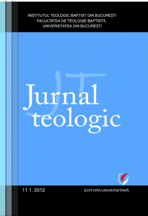 Jurnal Teologic, 11.1, 2012 0