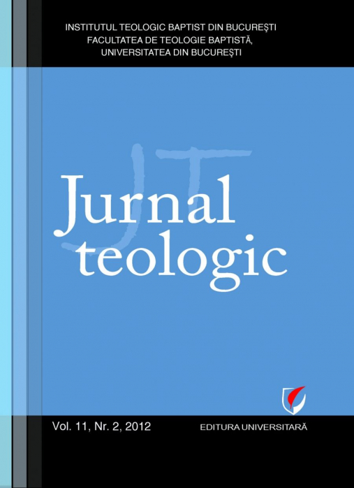 Jurnal Teologic, Vol. 11, Nr. 2, 2012 0