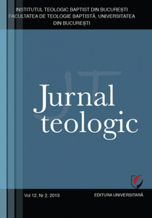 Theological Journal, 12th volume, no. 2, 2013 0