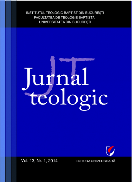 Jurnal Teologic, Vol. 13, Nr. 1, 2014 0