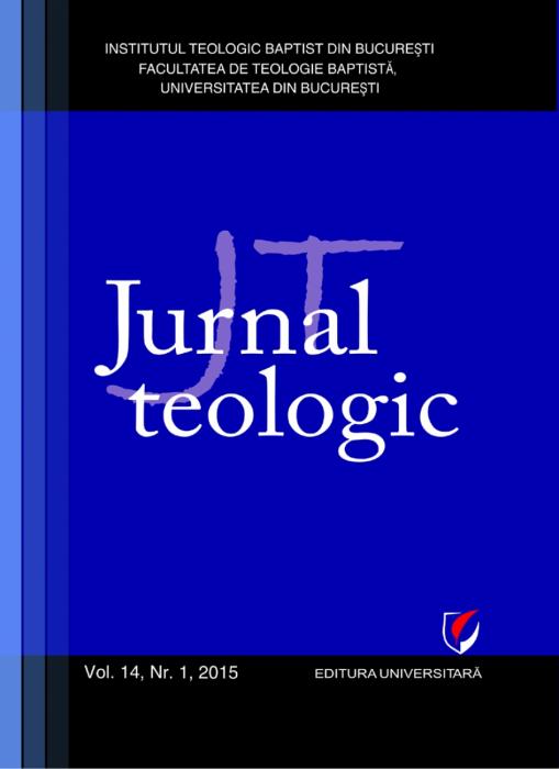 Jurnal Teologic, Vol. 14, Nr. 1, 2015 0