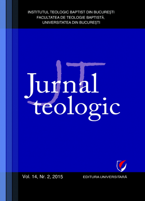 Jurnal Teologic, Vol. 14, Nr. 2, 2015 0