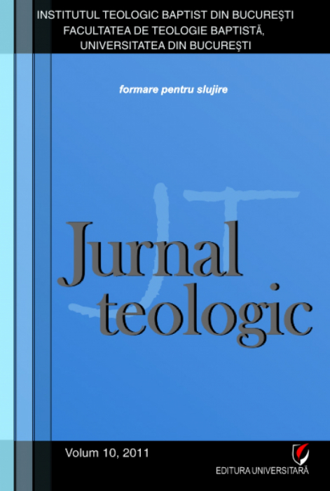 Jurnal Teologic, volum 10, 2011 0