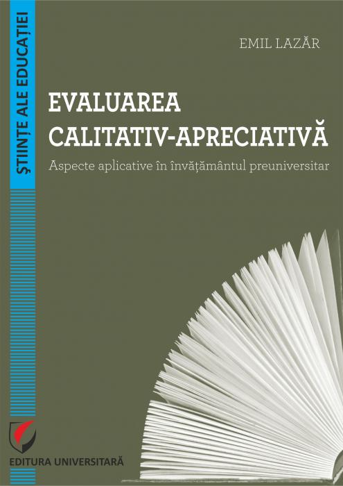 Evaluarea calitativ-apreciativa. Aspecte aplicative in invatamantul preuniversitar 0