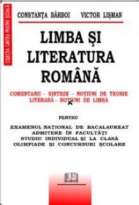 Limba si literatura romana - Comentarii, Sinteze, Notiuni de teorie literara, Notiuni de limba 0