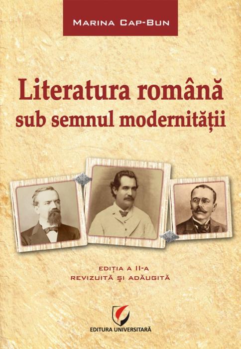Literatura romana sub semnul modernitatii 0