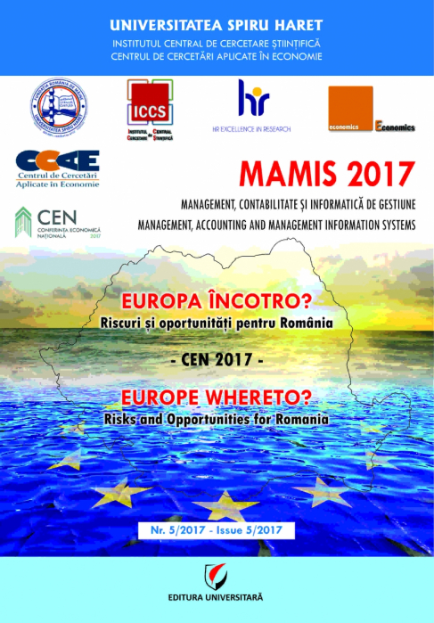 MAMIS 2017 - Europe, Where To? Risks and Opportunities for Romania 0