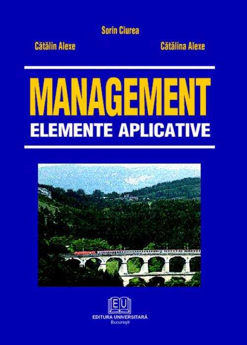 Management.Applied elements 0