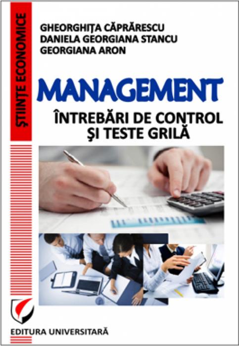 Management - Intrebari de control si teste grila [0]