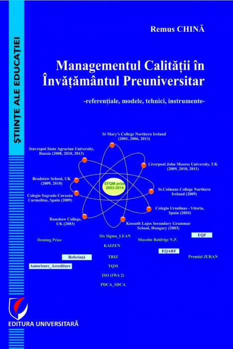 Managementul calitatii in invatamantul preuniversitar. Referentiale, modele, tehnici, instrumente 0