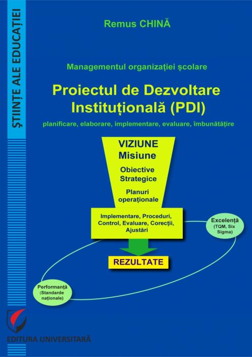 Managementul organizatiei scolare. Proiectul de dezvoltare institutionala (PDI) 0