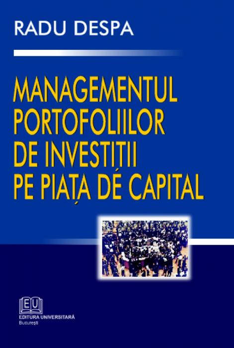Managementul portofoliilor de investiţii pe piaţa de capital 0