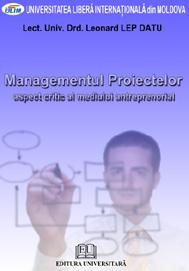 Managementul proiectelor - Aspect critic al mediului antreprenorial 0