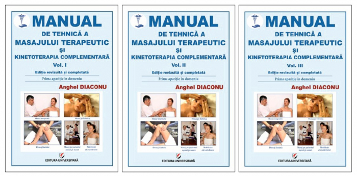Manual de tehnica a masajului terapeutic si kinetoterapia complementara, Vol. I, II, III [0]