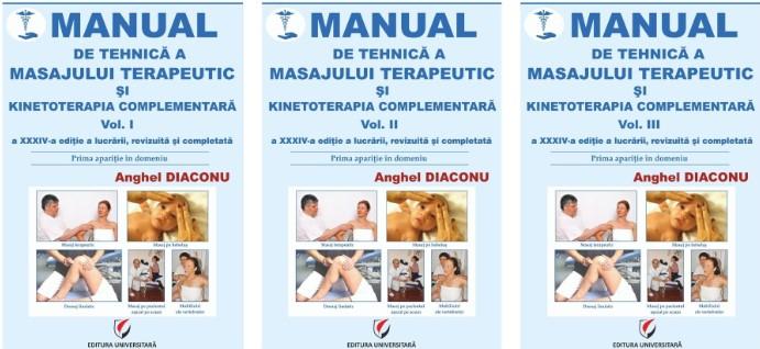 Manual de tehnica a masajului terapeutic si kinetoterapia complementara, editia a XXXIV-a 0