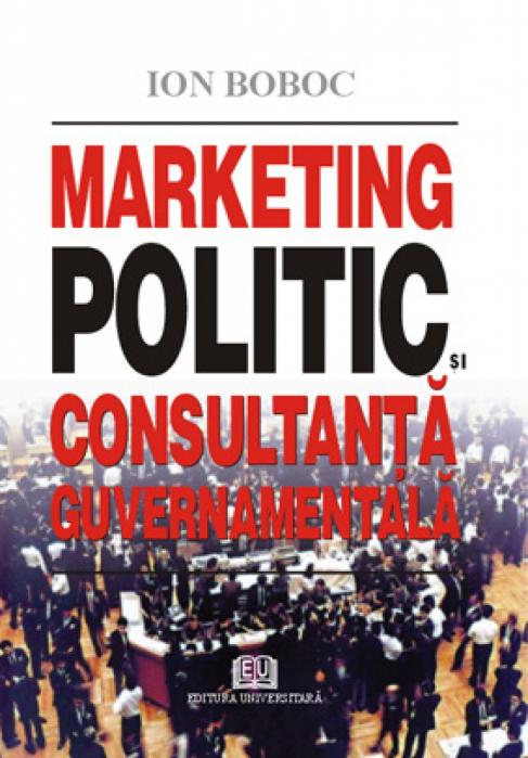 Marketing politic şi consultanţă guvernamentală 0