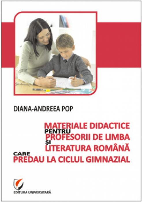 Teaching materials for teachers of Romanian language and literature teaching in secondary schools 0