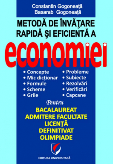 Metoda de invatare rapida si eficienta a economiei 0