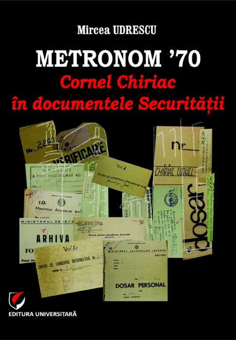 METRONOM 70s. Cornel Chiriac in Security documents 0