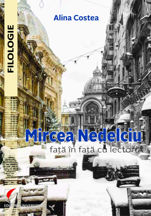 Mircea Nedelciu face to face with the lecturer 0