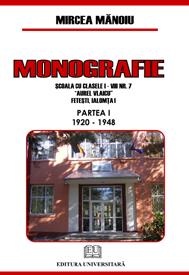 Monografie - Şcoala cu clasele I-VII 0