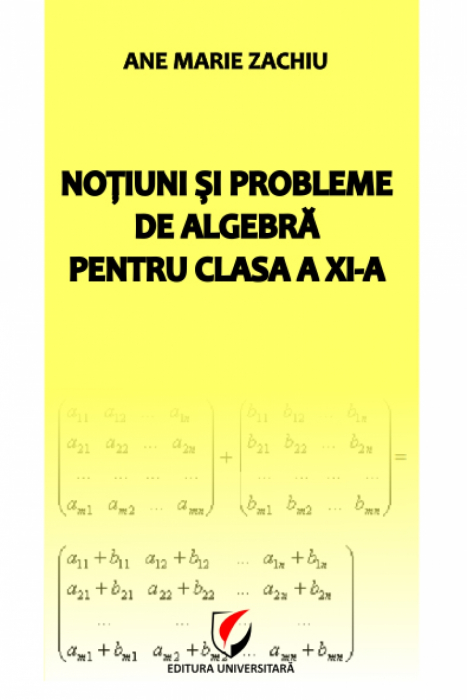Algebra concepts and problems for class XI 0