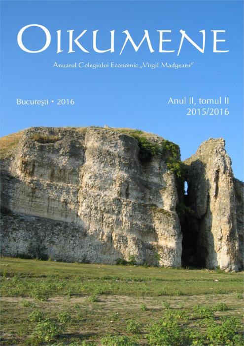 OIKUMENE. Anuarul Colegiului Economic. Anul II, tomul II, 2015/2016 0