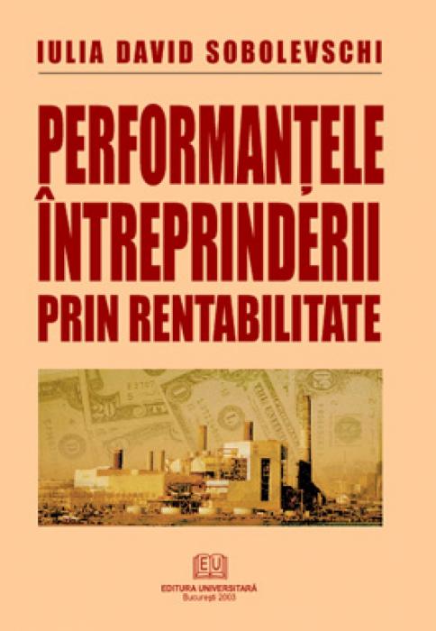 Performanţele întreprinderii prin rentabilitate [0]