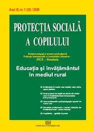 Protectia sociala a copilului - Nr. 1(33)/2009 [0]