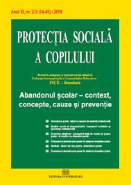 Protectia sociala a copilului - Nr. 2-3(34-45)/2009 0