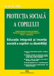 Protectia sociala a copilului - Nr. 29-30 / 2008 0