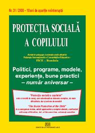 Protectia sociala a copilului - Nr. 31/2008 0