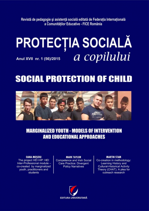 Protectia sociala a copilului/Social protection of child. Anul XVII-NR. 1(56)/2015 0