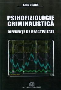 Psihofiziologie criminalistica - Diferente de reactivitate 0