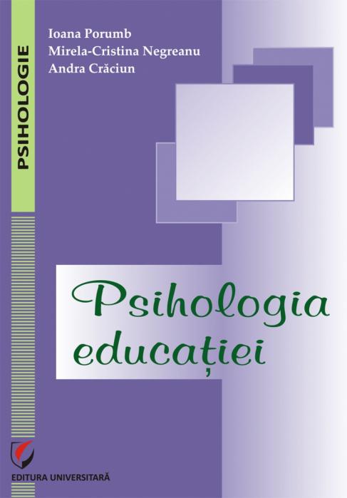 Psihologia educaţiei 0